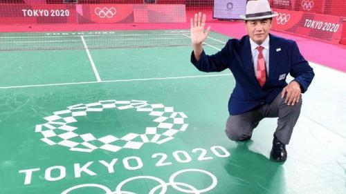 Wahyana jadi wasit di Olimpiade Tokyo 2020 (Foto: Dokumentasi pribadi Wahyana)