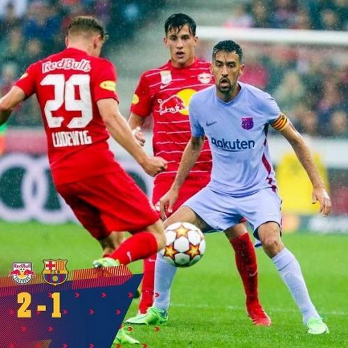Salzburg vs Barcelona