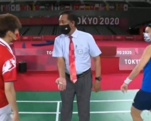 Wahyana jadi wasit di Olimpiade Tokyo 2020 (Foto: Istimewa)