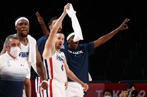 Timnas basket Prancis lolos ke final Olimpiade Tokyo 2020 (Foto: Reuters)
