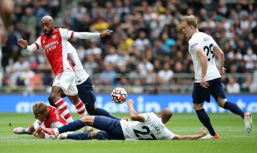 Tottenham Hotspur vs Arsenal (Foto: Reuters)