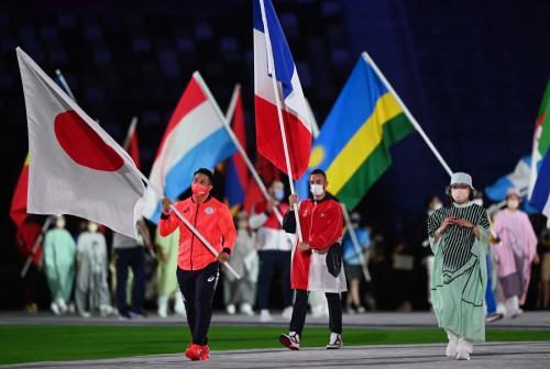 Parade atlet di Olimpiade Tokyo 2020. Foto: Reuters
