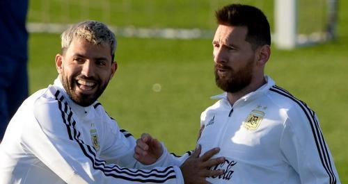 Aguero dan Messi