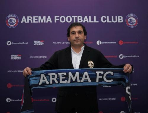 Pelatih Arema FC Eduardo Almeida (Foto: Arema FC)