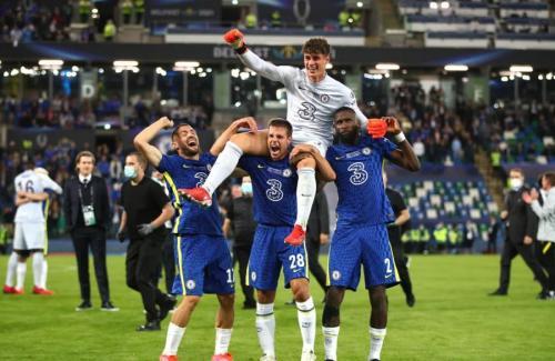 Kepa Arrizzabalaga jadi pahlawan Chelsea (Foto: Reuters)