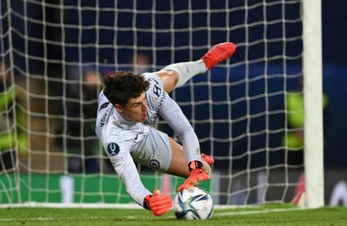 Kepa Arrizzabalaga jadi pahlawan Chelsea (Foto: UEFA)