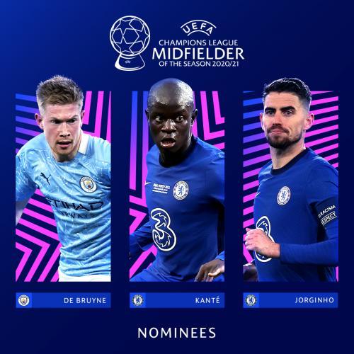 Nominasi pemain terbaik Liga Champions 2020-2021
