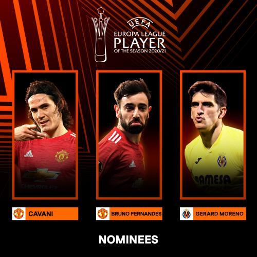 Nominasi pemain terbaik Liga Eropa 2020-2021