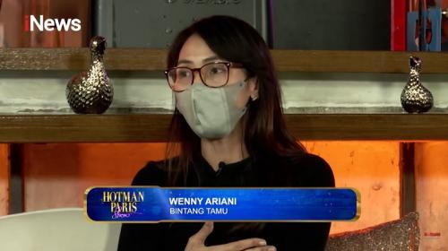 Wenny Ariani laporkan Rezky Aditya ke Polres Metro Jaksel atas dugaan penelantaran anak. (Foto: Hotman Paris Show/iNews)
