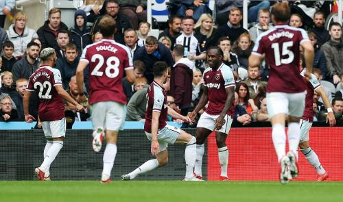 West Ham United mengalahkan Newcastle United (Foto: Reuters)