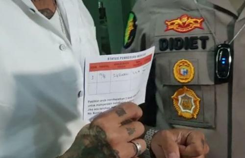 Jerinx SID mengungkapkan alasannya sempat ragu melakukan vaksin COVID-19. (Foto: MNC Portal Indonesia/Siska Permatasari)