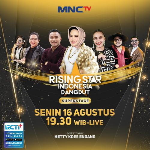 Rising Star Indonesia Dangdut. (Foto: MNC Media)