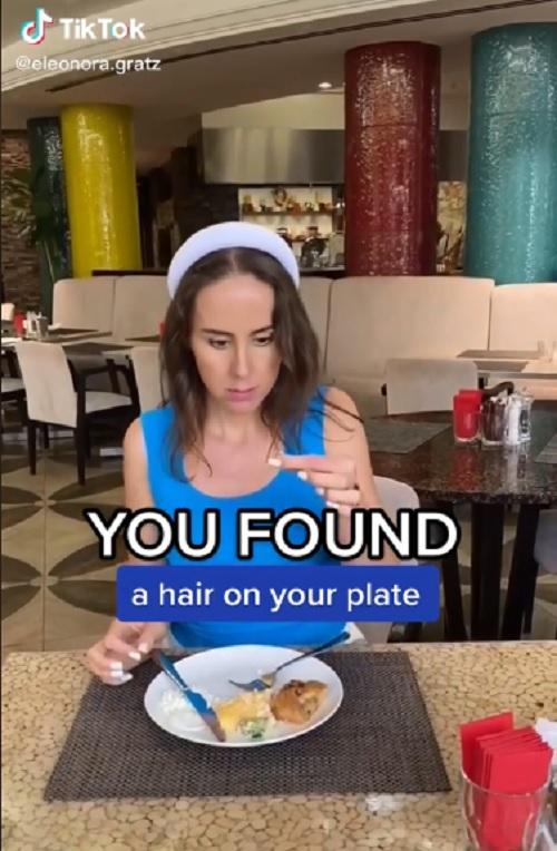 Temukan Rambut di Makanan