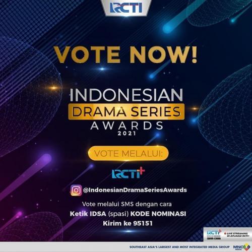 Cara vote para nominator Indonesian Drama Series Awards 2021. (Foto: MNC Media)