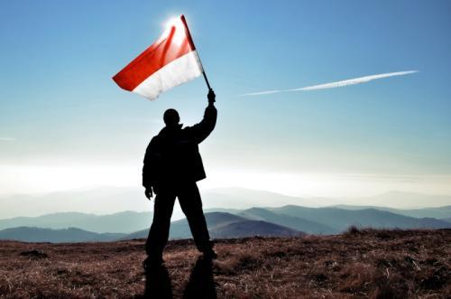 Bendera merah putih. (Foto: Okezone)