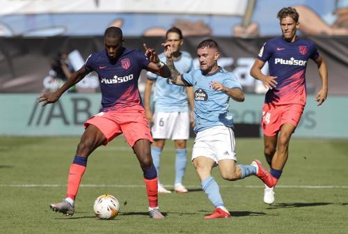 Geoffrey Kondogbia vs Celta Vigo (Foto: Reuters)