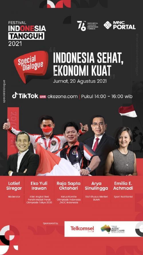 Special Dialogue bertema Indonesia Sehat, Ekonomi Kuat
