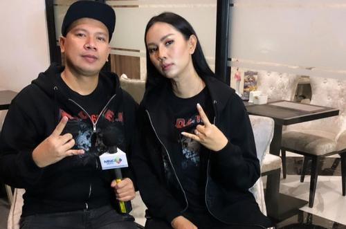 Kalina Oktarani dan Vicky Prasetyo