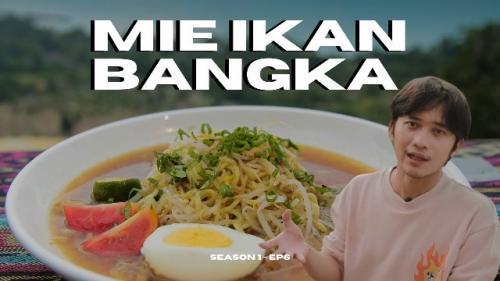 Mie koba ikan tenggiri ala Chef Faiz N Habibie. (Foto: YouTube Faiz N Habibie)