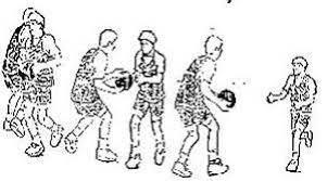 9 macam passing dalam permainan bola basket hand off pass