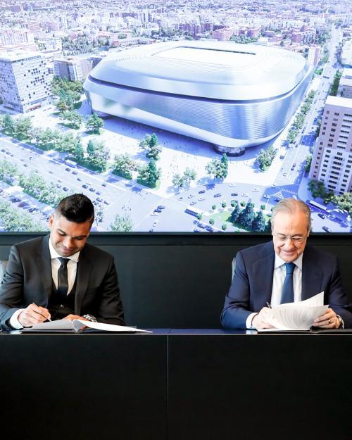 Casemiro resmi perpanjang kontrak di Madrid