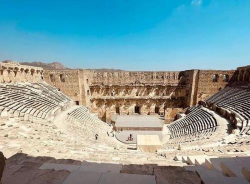 Aspendos Teater Romawi di Turki