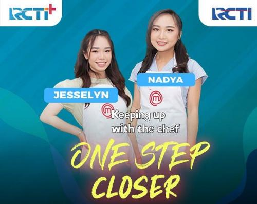 Jesselyn dan Nadya di Grand Final MasterChef Indonesia Season 8. (Foto: Instagram @masterchefina)