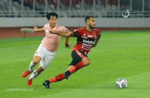Bali United vs Persik Kediri (Foto: Liga Indonesia Baru)