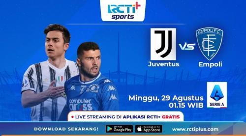 Juventus vs Empoli di RCTI+