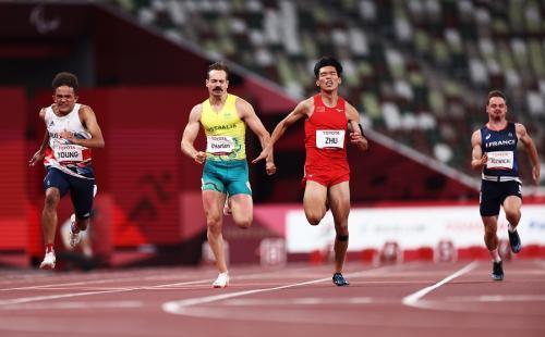 Evan OHanlon raih medali perunggu di Paralimpiade Tokyo 2020 (Foto: Reuters)