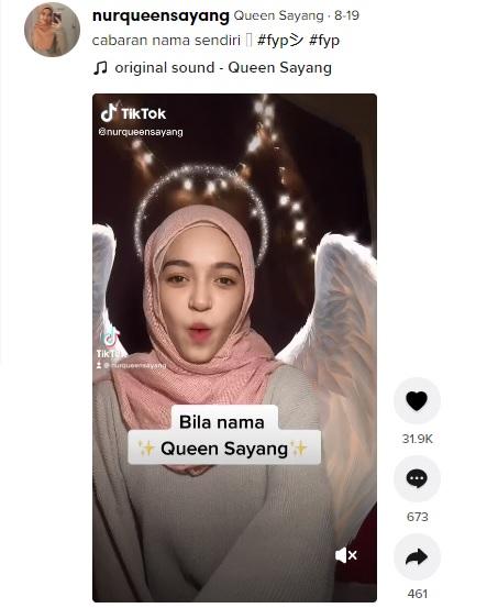 Mahasiswi Nama Sayang