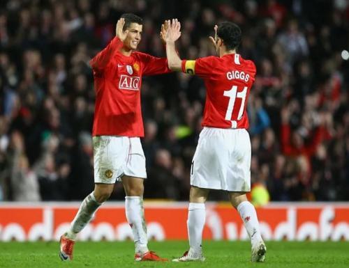 Cristiano Ronaldo dan Ryan Giggs (Foto: Sportskeeda)