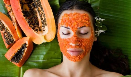 Masker Wajah dari Pepaya
