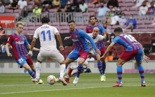 Laga Barcelona vs Getafe