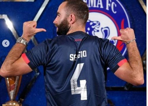 Sergio Silva gabung Arema FC (Foto: Media Officer Arema FC)