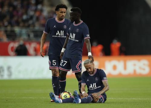 Para pemain PSG. Foto: Reuters