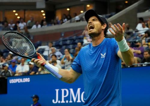 Andy Murray tuduh Stefanos Tsitsipas curang (Foto: Reuters)