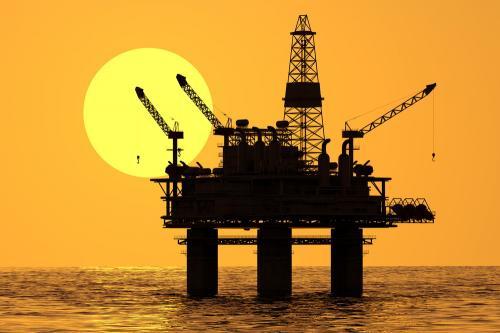 Ilustrasi tambang emas di laut lepas. (Foto: Shutterstock)