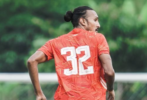 Rohit Chand tak pasang target khusus di Liga 1 2021-2022 (Foto: Twitter/Persija_Jkt)