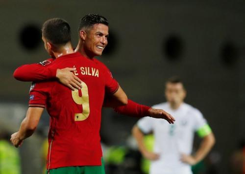 Para pemain Timnas Portugal