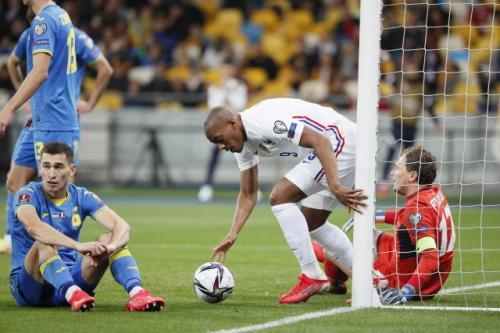Timnas Ukraina vs Timnas Prancis