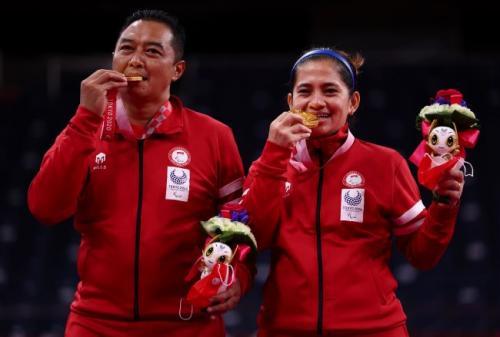 Hary Susanto dan Leani Ratri Oktila rebut medali emas Paralimpiade Tokyo 2020
