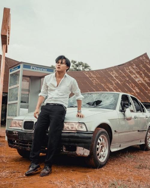 Rizky Febian akan merilis lagu Merelakan, pada 9 September 2021. (Foto: Falcon Pictures)