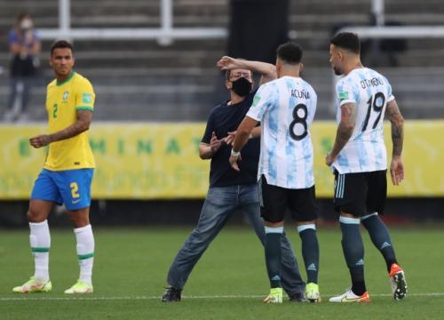 Timnas Brasil vs Argentina