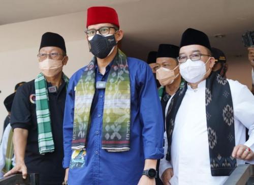 Sandiaga Uno kunjungi Kampung Betawi di Setu Babakan, Jaksel
