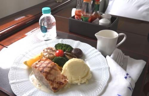 Menu Makanan Private Jet