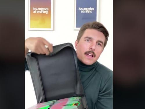 Pria Mirip Tom Cruise