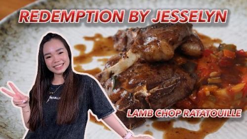 Jesselyn juara MasterChef Indonesia Season 8 membagikan resep lamb chop ratatouille. (Foto: YouTube Christo & Sisca)