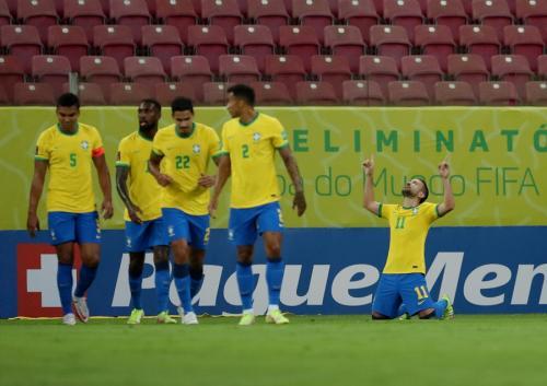 Para pemain Timnas Brasil