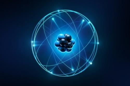 Ilustrasi atom partikel terkecil di dunia. (Foto: Shutterstock)